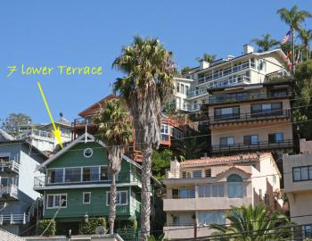 7 lower terrace catalina island vacation rentals for Terrace 6 indore address