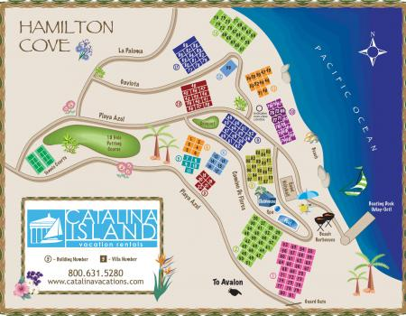 Island Maps Catalina Island Vacation Rentals