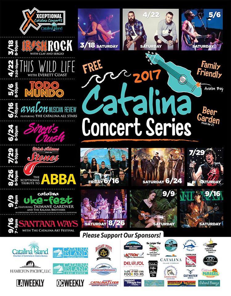 2017 Catalina Concert Series